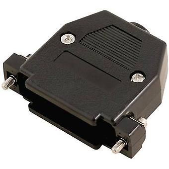 MH Connectors 2360-0102-02 2360-0102-02 D-SUB housing Number of pins: 15 Plastic 180 ° Black 1 pc(s)