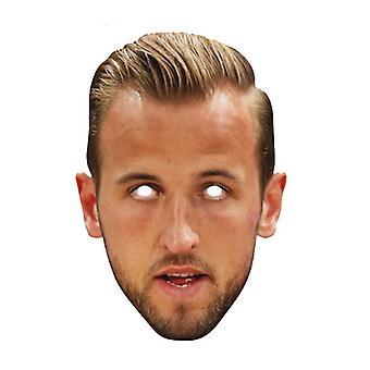 Harry Kane Footballer 2D Einzelkarte Party Gesichtsmaske