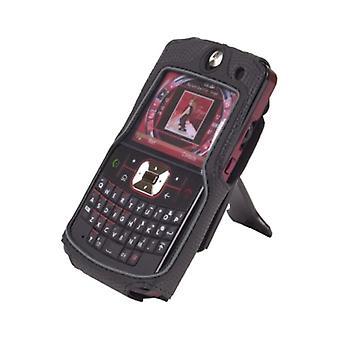 Corpo luva - Case com suporte Clip para Motorola Moto Q9h - preto