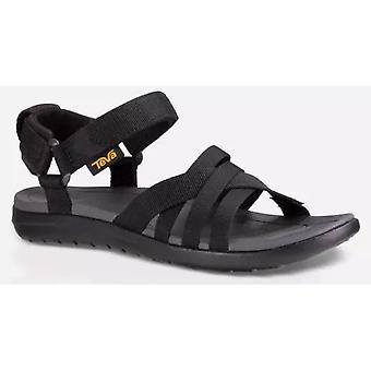 Sandborn sandália Teva feminina - preto