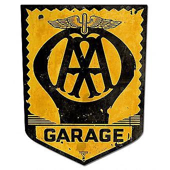 AA Garage metall skylt