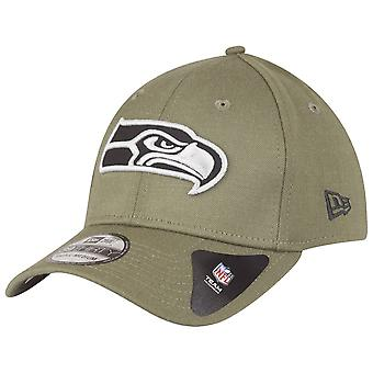 Nowa era 39Thirty Cap - NFL Seattle Seahawks oliwek