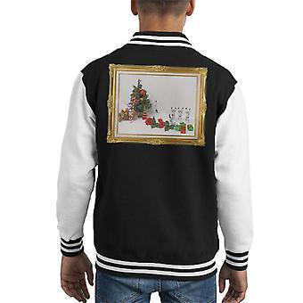 Oprindelige Stormtrooper juletræ død dias Kid's Varsity jakke