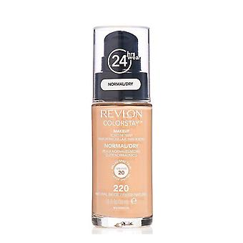 Revlon Colorstay Make-up Normal/Dry Skin-220 Natürliche Beige 30ml