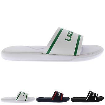 Mens Lacoste L.30 118 2 Slides Rubber Lightweight Summer Open Toe Sandal