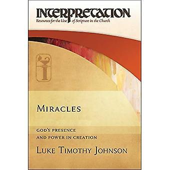 Milagros: Presencia y energía en la creación de Dios