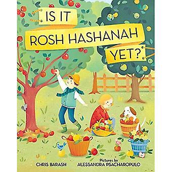 Är det Rosh Hashanah ännu?