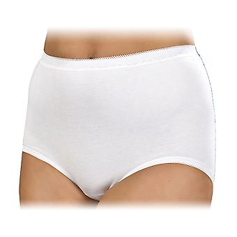 La Marquise Womens Cotton Maxi Briefs Underwear (Pack of 3)