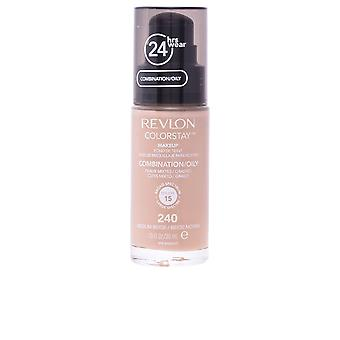 Revlon Colorstay kombinationen fet hud 240 Medium Beige 30ml Womens nya
