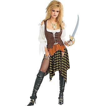 Pirata traje adulto de las mujeres