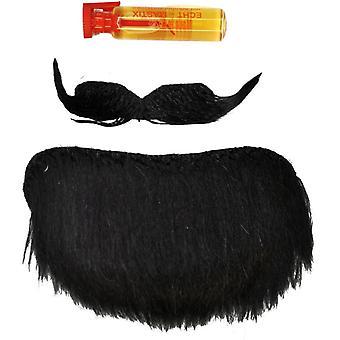 Bart fippskjegg svart