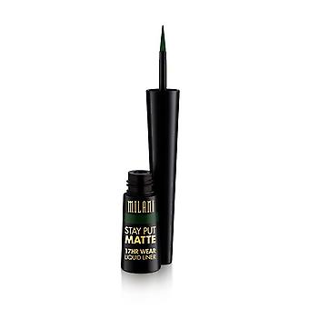 Milani Stay Put Matte 17hr Wear Liquid Eyeliner Safari Matte