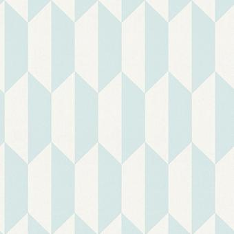 Texture 3D effetto carta da parati geometrica retrò Vintage Vinyl come creazione