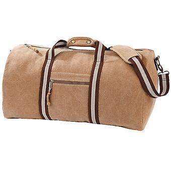 Quadra Vintage Reisetasche Duffle Tasche - 45 Liter (2 Stück)