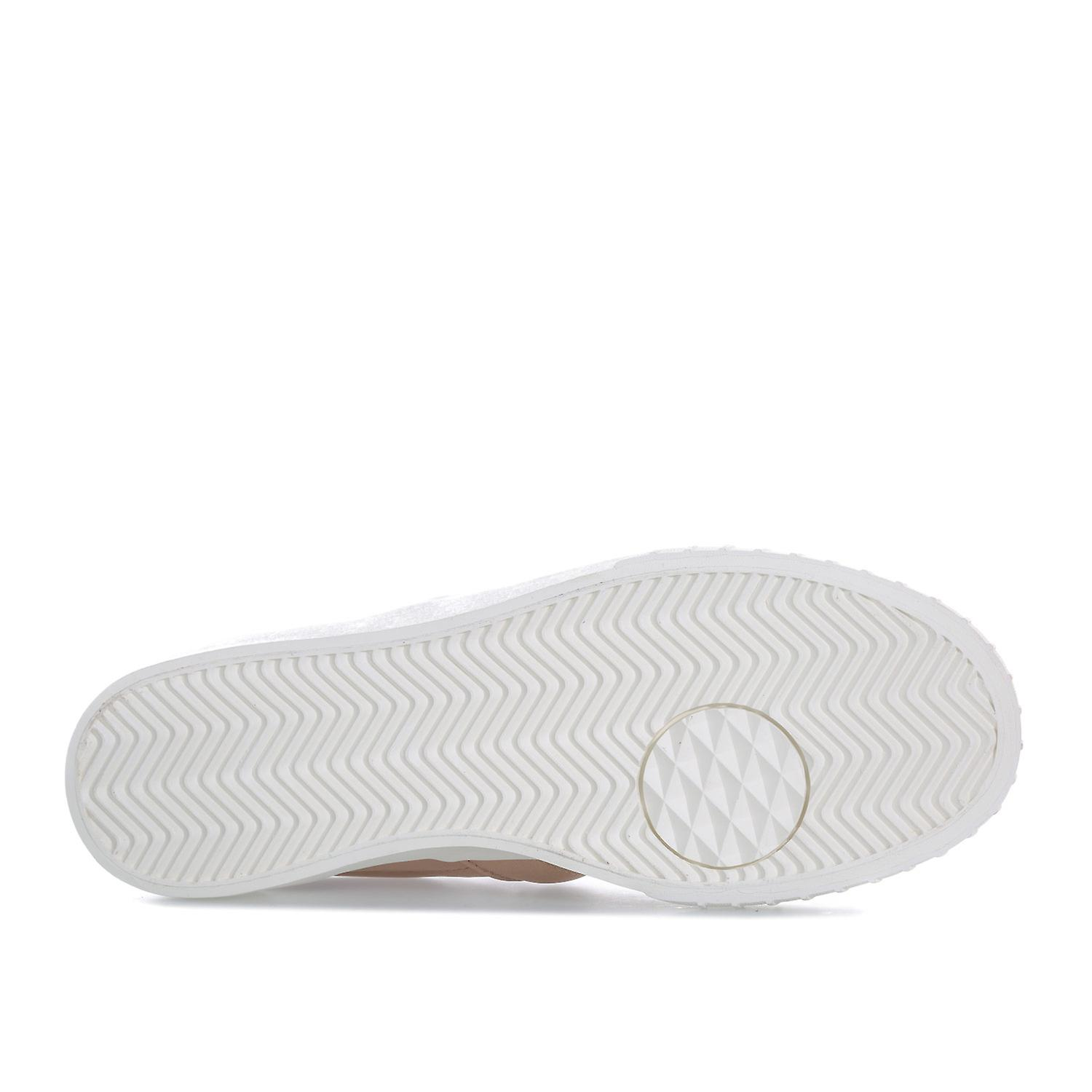 Womens adidas Originals Everyn Slip On Trainers In Ash Pearl Linen