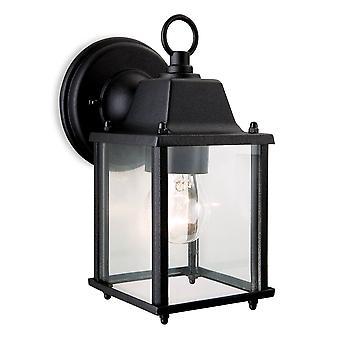Firstlight-1 Light Lantern-wandlamp zwart-8666BK