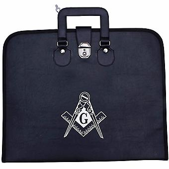 Masonic Regalia Provincial Full Dress Square Compass Apron Case [Multiple Colors]