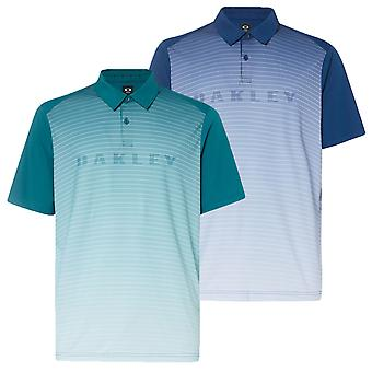 Oakley mens J Joyce gradiënt brand Golf lichtgewicht Polo shirt