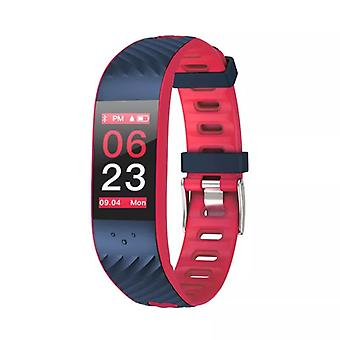 P4 activity wristband with blood pressure and heart rate monitor-red