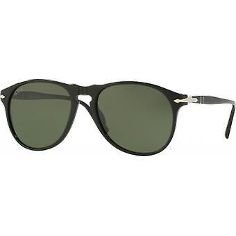 Persol 6649S Black polarized verde