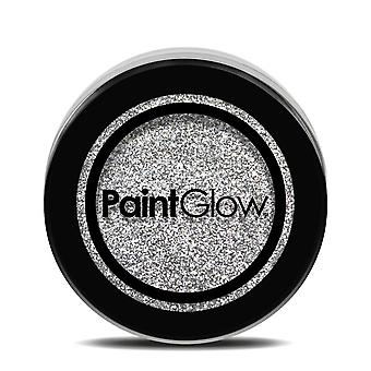 PaintGlow Glitter Shaker Holographic Silver