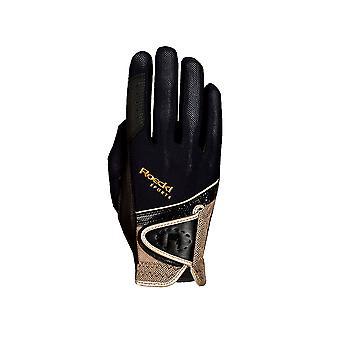 Roeckl Madrid (london) Riding Gloves - Black/gold