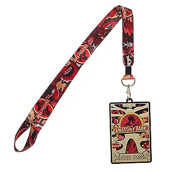 Lanyard - Rick and Morty - Anatomy Park ID holder New la6kkuric