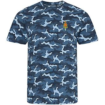 7 PARA Royal Horse Artillery RHA - Licensed British Army Embroidered Camouflage Print T-Shirt