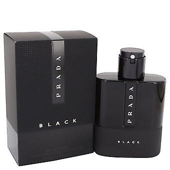 Prada luna rossa black eau de parfum spray by prada   542060 100 ml