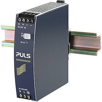 PULS DIMENSION CS5.244 Rail mounted PSU (DIN) 24 V DC 5 A 120 W 1 x