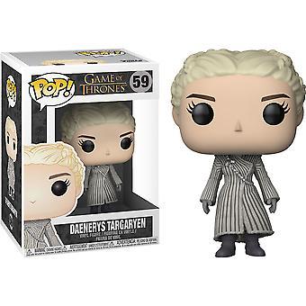 Game of Thrones Daenerys (White Coat) Pop! Vinyl