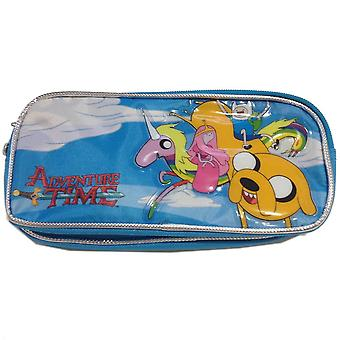 Pencil Case - Adventure Time - Group (Double Zippered Pouch) New 633202