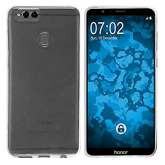 Huawei Honor 7X Siliconen Hoesje Transparant - CoolSkin3T
