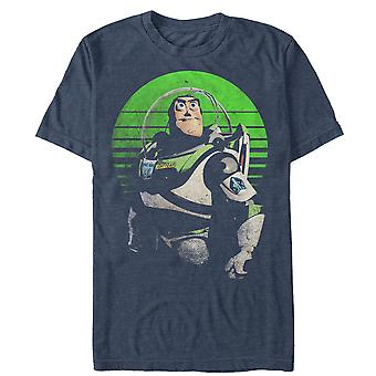 Toy Story détresse Heather Blue Buzz Lightyear tee shirt