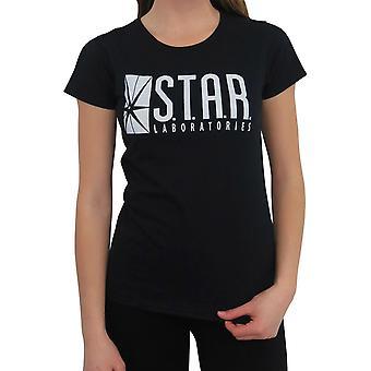 כוכב פלאש נשים מעבדות ' s חולצת טריקו