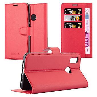 Cadorabo Sag for Xiaomi Mi 8 sag dække - telefon sag med magnetisk lås, stå funktion og kortrum - Sag Cover Beskyttende sag bog Foldestil