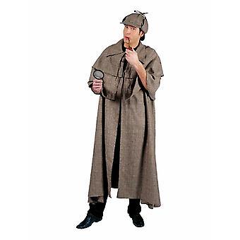 Sherlock mannen kostuum Detective vacht snuiven mannen kostuum
