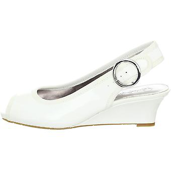 Kids Jessica Simpson Girls Penn Fabric Slip On SlingBack Slide Sandals