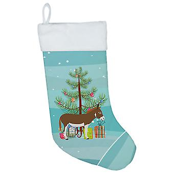 Miniature Mediterranian Donkey Christmas Christmas Stocking