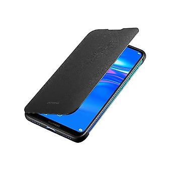 Huawei Y7 2019 Flip Cover Case Originale-Nero