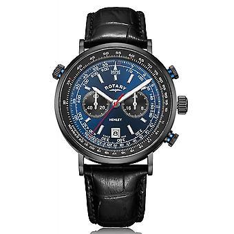 Rotary GS05238-05 Men's Henley Chronograph Wristwatch