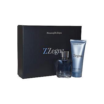 Ermenegildo Zegna Z Zegna Gift Set 50ml EDT + 100ml Cabelo e amp; Lavagem corporal