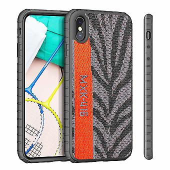 Back Cover Sneaker für Apple iPhone X/XS Grey
