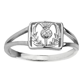 Szkocki Oset Flower Of Scotland Ring