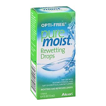 Opti-free puremoist rewetting drops, 0.4 oz