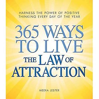 365 manieren om te leven de wet van aantrekken