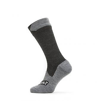 Sealskinz All Weather Mid Length Sock | Fully Waterproof Socks for Running.