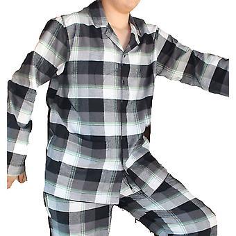 Mens JOCKEY geborsteld katoen Flanel pyjama 52320