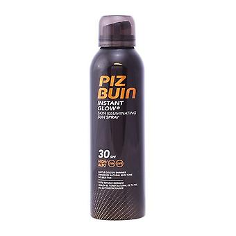 Sun protection spray Instant Glow Piz Buin Spf 30 (150 ml)