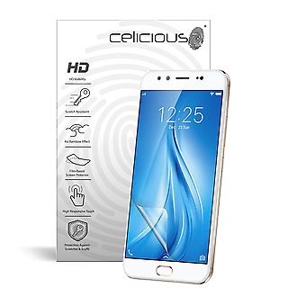 Celicious Vivid Invisible Glossy HD Screen Protector Film Compatible with Vivo V5 Plus [Pack of 2]